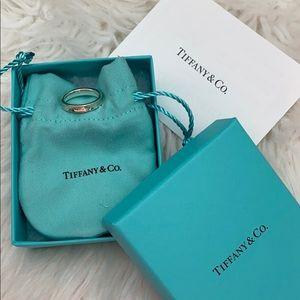 Tiffany and co narrow basic ring